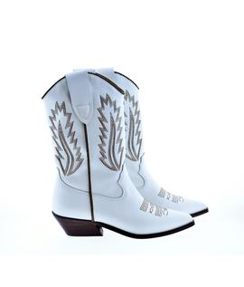 BOTA CAMPERA ALPE ROSE BLANCO