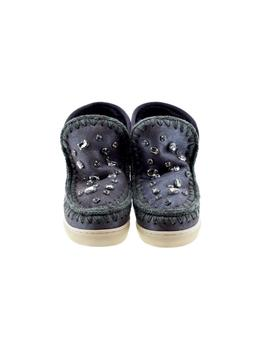 ESKIMO SNEAKER STRASS DUST BROWN